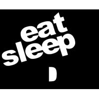Eat sleep JDM flèche couleur