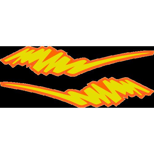 flaming couleur DE BASE