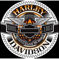 Harley davidson rond