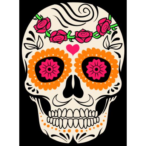 Tête de mort Mexicaine 2
