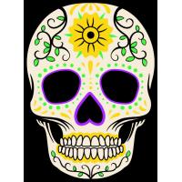 Tête de mort Mexicaine 3