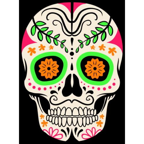 Tête de mort Mexicaine 5