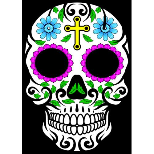 Tête de mort Mexicaine 1
