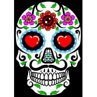 Tête de mort Mexicaine 7