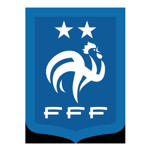 Logo Equipe de France FFF 2 étoiles