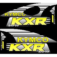 kit deco krx 250 jaune