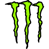Autocollant Monster energy