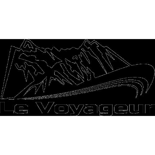 Voyageur Montagne Droite