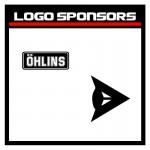 Logo racer et sponsor