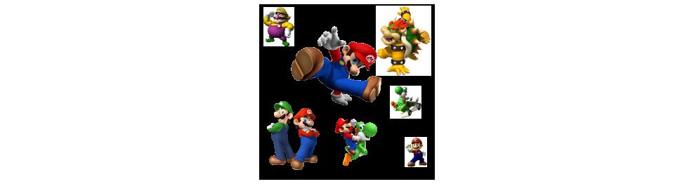 Autocollant Mario