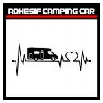 Adhésif Camping Car